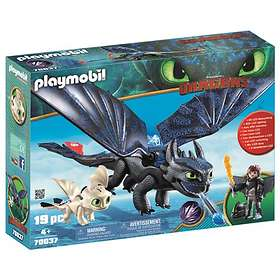 Playmobil Dragons 70037 Hiccup and Toothless with Baby Dragon
