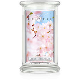 Kringle Candle Large Classic Jar 2 Wick Scented Candle Cherry Blossom