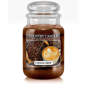 Country Candle Large Jar 2 Wick Scented Candle Coffee Shop