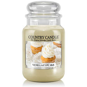 Country Candle Large Jar 2 Wick Scented Candle Vanilla Cupcake