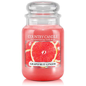 Country Candle Large Jar 2 Wick Scented Candle Grapefruit Ginger