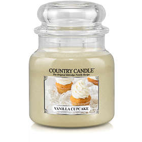 Country Candle Medium Jar 2 Wick Scented Candle Vanilla Cupcake