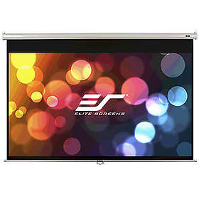 "Elite Screens Manual White Case MaxWhite 16:9 100"" (221x124.5)"