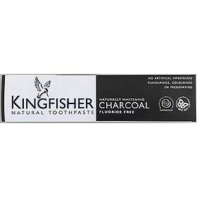 Kingfisher Natural Whitening Charcoal Tandkräm 100ml