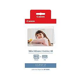 Canon KP-108IN + Photo paper (3-Farge)