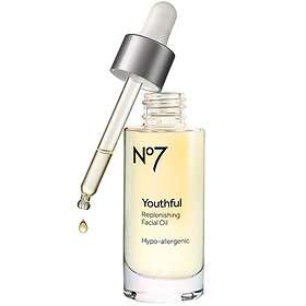 Boots No7 Youthful Replenishing Facial Oil 30ml