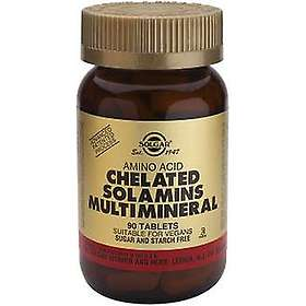 Solgar Chelated Solamins Multimineral 180 Tablets