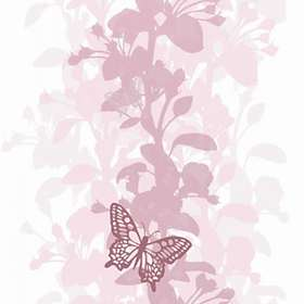 Mr Perswall Artist Butterfly Pink (2474)
