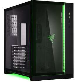 Lian Li PC-O11DRE Dynamic Razer Edition (Svart/Transparent)