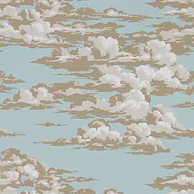 Sanderson Silvi Clouds English Blue (216601)
