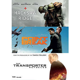 Hacksaw Ridge + Point Break + Transporter Refueled