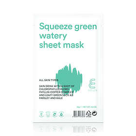 Enature Squeeze Green Watery Sheet Mask 25g
