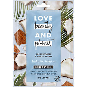 Love Beauty And Planet Hydration Infusion Sheet Mask 21ml