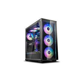 Deepcool Matrexx 70 ADD-RGB 3F (Noir/Transparent)