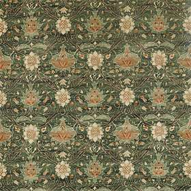 Morris & Co. Archive IV Purleigh Weaves Montreal Velvet Forest Teal (226391)