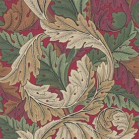 Morris & Co. Archive IV The Collector Acanthus Madder Thyme (216439)