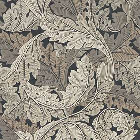 Morris & Co. Archive IV The Collector Acanthus Charcoal Grey (216442)