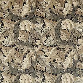 Morris & Co. Archive IV Fabrics Acanthus Charcoal Grey (226399)