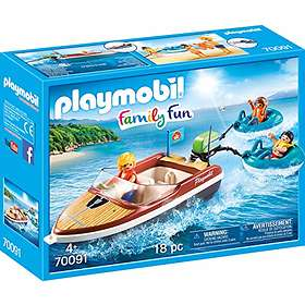 Playmobil Family Fun 70091 Racerbåt med surfare