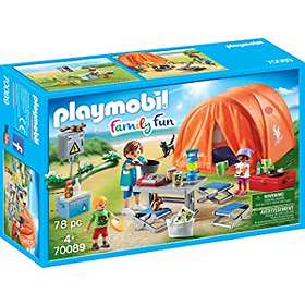 Playmobil Family Fun 70089 Family Camping Trip