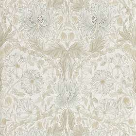 Morris & Co. Pure North Honeysuckle & Tulip Linen (216526)