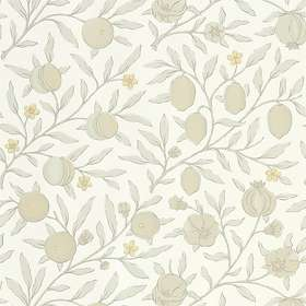 Morris & Co. Pure North Fruit Horned Poppy Grey (216542)