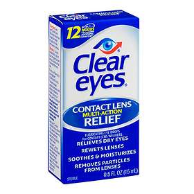 Clear Eyes Multi Action Relief Eye Drops 15ml
