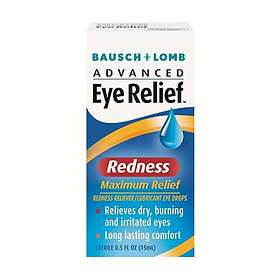 Bausch & Lomb Advanced Eye Relief Redness Eye Drops 15ml