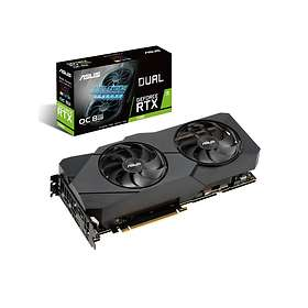 Asus GeForce RTX 2080 Dual EVO OC HDMI 3xDP 8GB