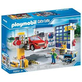 Playmobil City Life 70202 Car Repair Garage