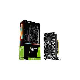 EVGA GeForce GTX 1660 Ti SC Ultra HDMI DP 6GB