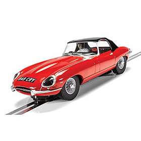Scalextric Jaguar E-Type Red 848CRY (C4032)