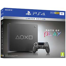 Sony PlayStation 4 (PS4) Slim 1TB - Days of Play Limited Edition