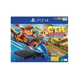 Sony PlayStation 4 (PS4) Slim 1TB (incl. Crash Team Racing - Nitro Fueled Editio
