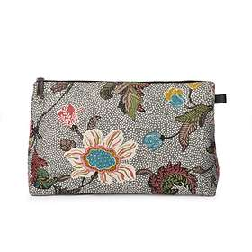 Ceannis Flower Linen Cosmetic Large