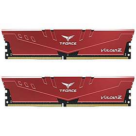Team Group T-Force Vulcan Z Red DDR4 2666MHz 2x8Go (TLZRD416G2666HC18HDC01)