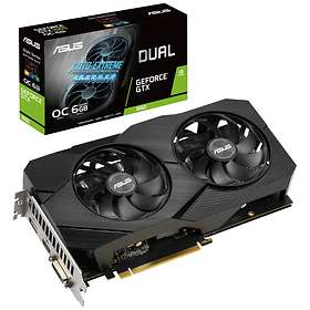 Asus GeForce GTX 1660 Dual EVO OC HDMI DP 6GB