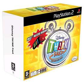 Disney: Think Fast (incl. Buzzers) (PS2)