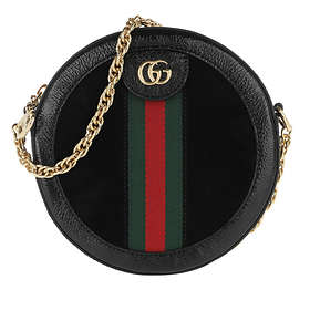 Gucci Ophidia Mini Round Shoulder Bag (550618)