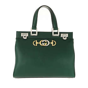 Gucci Zumi Grainy Leather Small Top Handle Bag (569712)