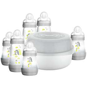 Mam Easy Star Microwave Bottle Steriliser Set