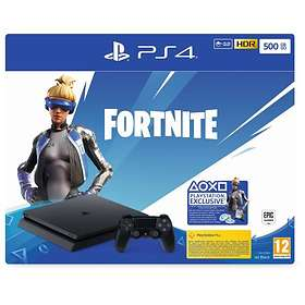 Sony PlayStation 4 Slim 500Go (+ Fortnite + 2nd DualShock)