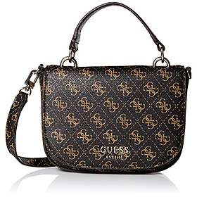 Guess Logo Rock Handle Print Mini Crossbody Bag (HWSG7409780)