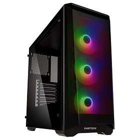 Phanteks Eclipse P400A RGB (Svart/Transparent)