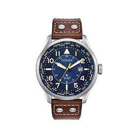 Citizen Brown Leather Eco-Drive Promaster Nighthawk BX1010-11L
