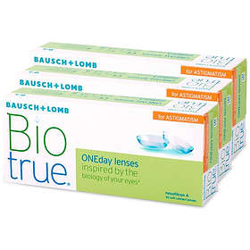 Bausch & Lomb Biotrue ONEday For Astigmatism (90-pack)