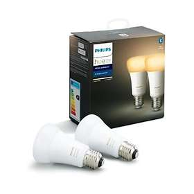 Philips Hue White Ambiance BT 806lm 6500K E27 9W 2-pack (Dimmable)