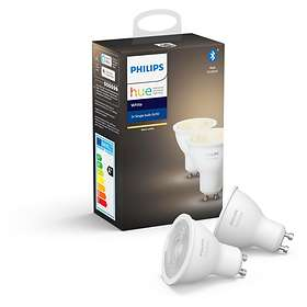 Philips Hue White BT 400lm 2700K GU10 5,2W 2-pack