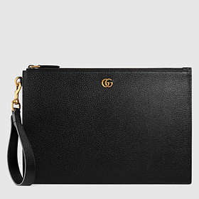 Gucci GG Marmont Leather Pouch (475317)