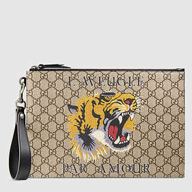 Gucci Bestiary Tiger Pouch (473904)